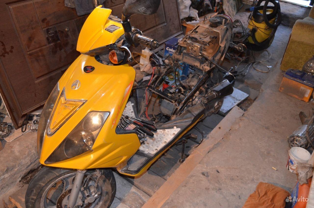 Скутер китайский ремонт своим руками 893