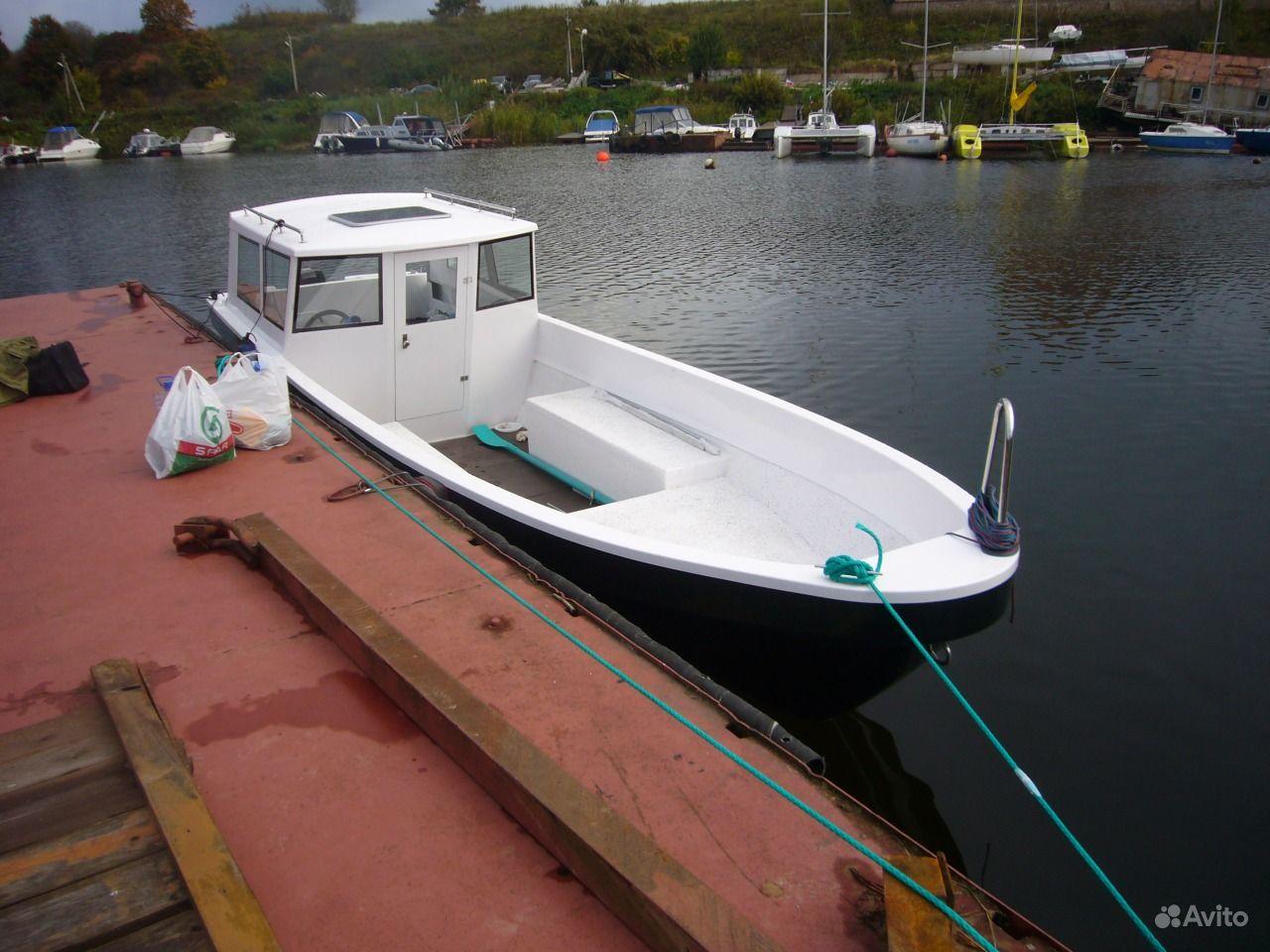купить катер лодки бу в спб на авито
