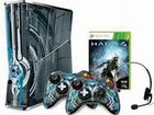 Xbox 360 (halo 4 design) 320gb/ 2 джойстика
