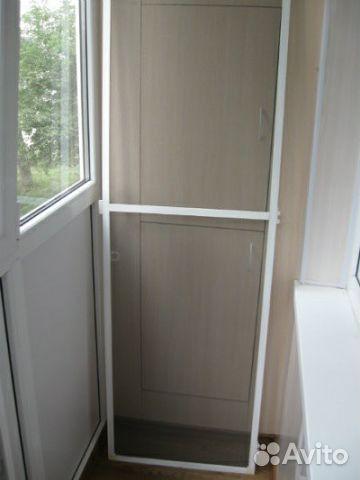 Дверь на балкон своими руками 33