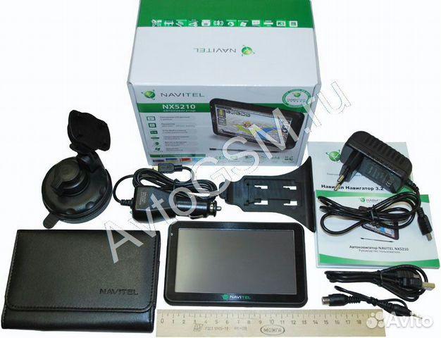 GPS-навигатор Navitel NX 5210 с 5-дюймовым дисплеем, 4 Гб памяти, Bluetooth