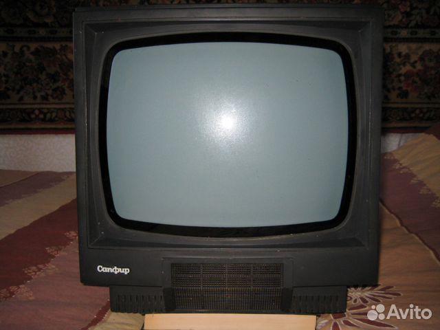 Черно-белый Телевизор Сапфир