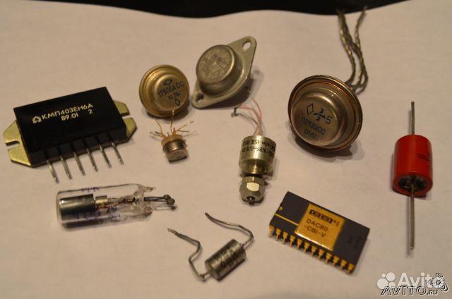 Радиодетали, радиоэлементы и