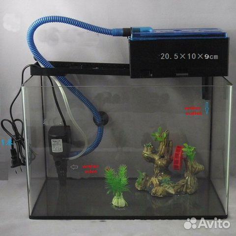 Внешний фильтр для аквариума 50 литров