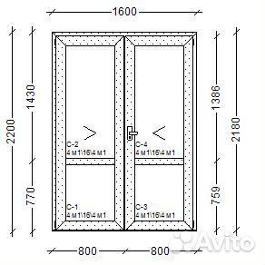 максимальная ширина металлической двери
