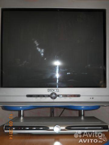 Телевизор и DVD фирмы polar