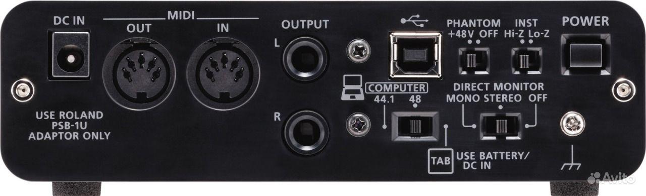 Звуковая карта Roland UA-22 Duo-Capture EX