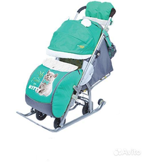 купить санки коляска в санкт петербурге