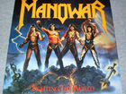 Manowar - Fighting The World. Germany. atco Record