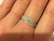Золотое кольцо 585 17 размер с бриллиантами e174abbce3319