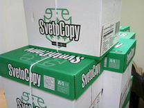 Бумага А4 SvetoCopy 35 коробок по 5 пачек