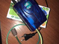 Aquarium air pump ap 308a