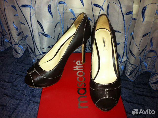 8129bc4c5 Кожаные туфли Mascotte купить в Санкт-Петербурге на Avito ...