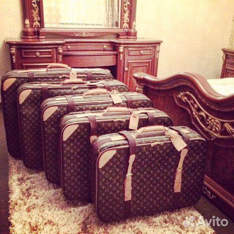 Чемоданы свадебные стильные брендовые чемоданы