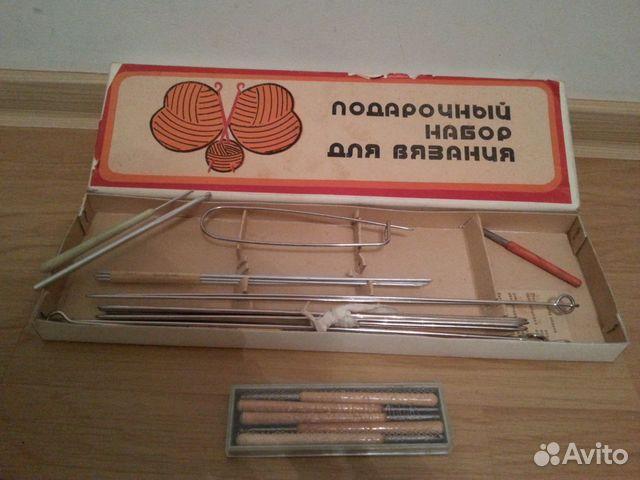 спицы и крючки для вязания набор купить в санкт петербурге на Avito