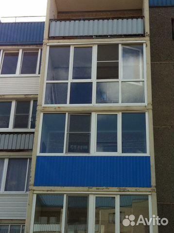 Услуги - остекление балконов, установка окон в пермском крае.