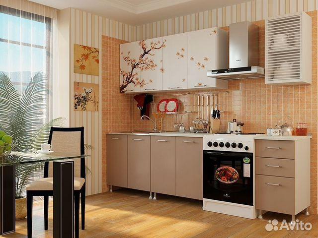Кухонный гарнитуры сакура полка на кухню деревянная купить в