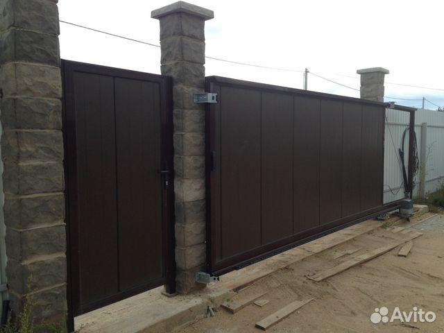 Ворота для склада подъемные в Родниках