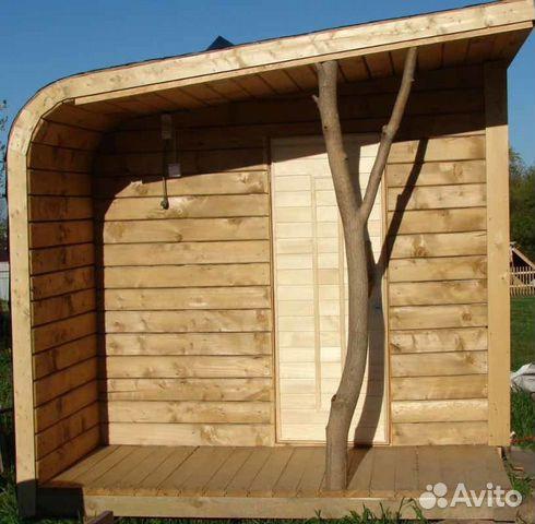 баня переносная деревянная