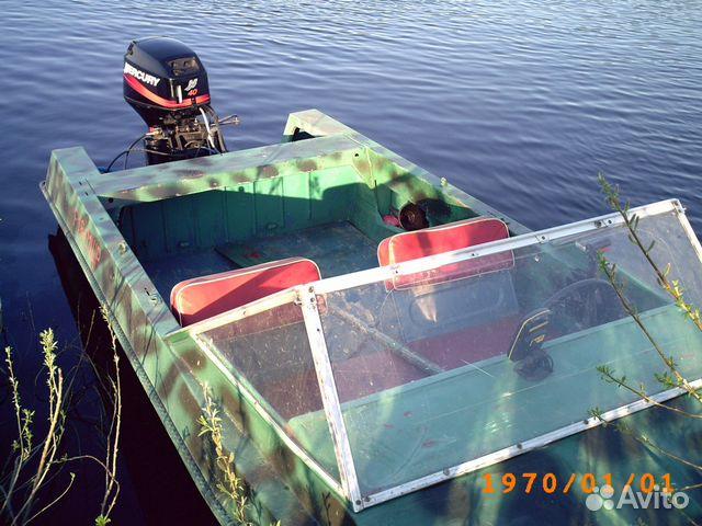 куплю лодку с мотором коми