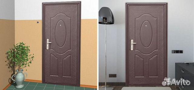 купить металлическую дверь в квартиру дешево