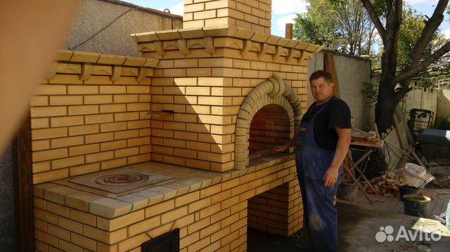 Строительство каминов барбекю в волгограде все для печи барбекю купить