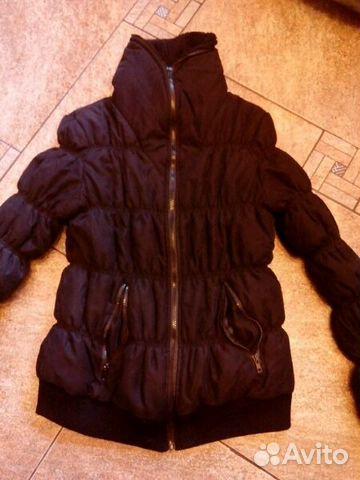 12bc2523903 Куртка(черная) р.46-48