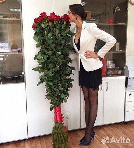 Розы длинные купить в спб заказать букет невесты в риге цена и фото