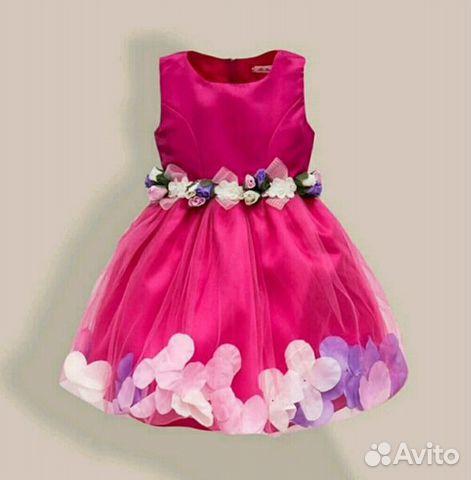 551533abbdd Нарядное платье для девочки купить в Москве на Avito — Объявления на ...
