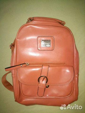 052bf137459d Сумка рюкзак кожзам купить в Москве на Avito — Объявления на сайте Авито