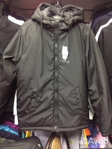 Куртка зимняя Ripndip новая.Черная купить в Санкт-Петербурге на ... f24e316288e