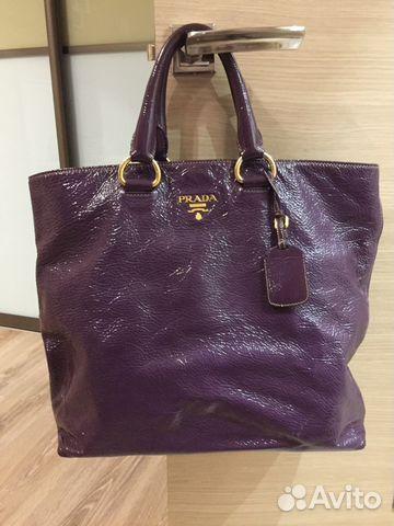 6b00064dbda0 Кожаная сумка Prada оригинал купить в Санкт-Петербурге на Avito ...