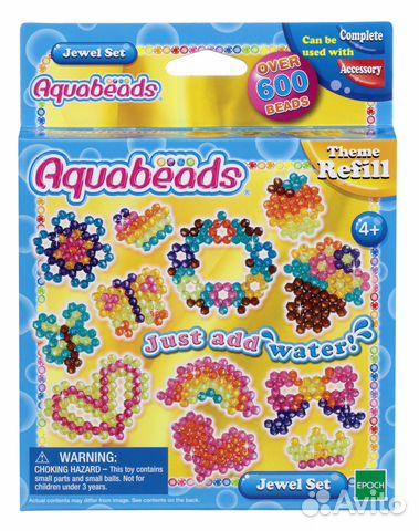 Aquabeads жемчужные бусины
