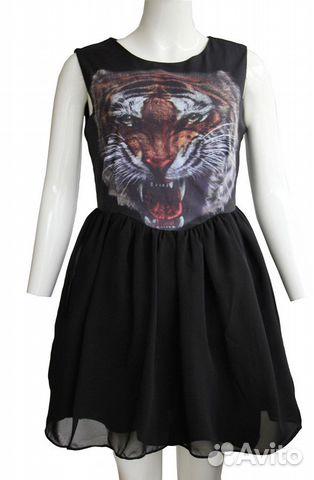 Платья с тигром фото