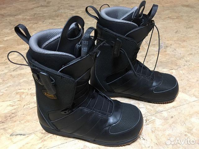 f9876e3a9689 Ботинки для сноуборда Саломон купить в Краснодарском крае на Avito ...