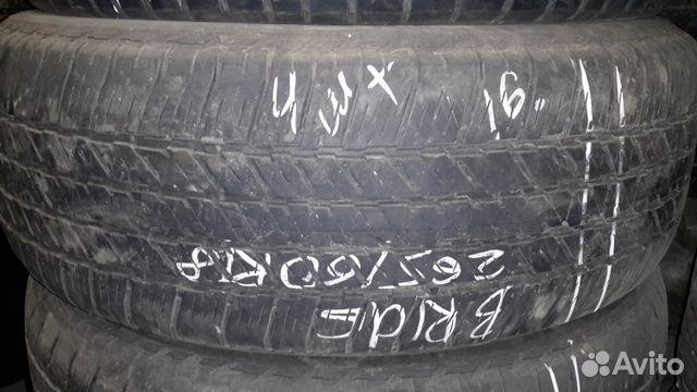 89805377242 Bridgestone 265/60 R18 летние 4 штуки
