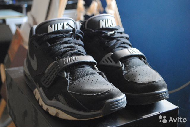 detailed look e3fe2 078c8 Nike AIR trainer SC II LOW - raiders