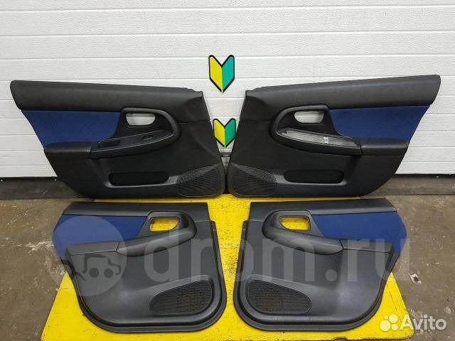 89625003353 Обшивка дверей комплект Subaru Impreza, GDA, EJ20