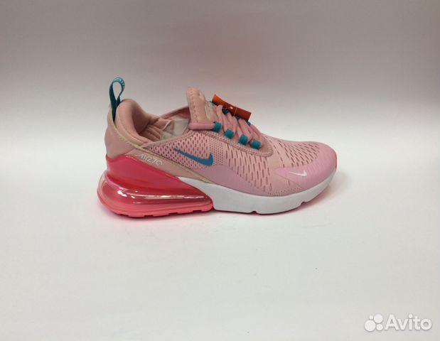 b19276a5 Кроссовки Nike Air Max 270 розовые красные женские купить в Москве ...