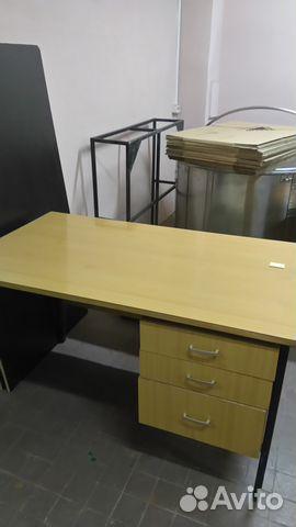 стол письменный с полками с тумбой и без бу