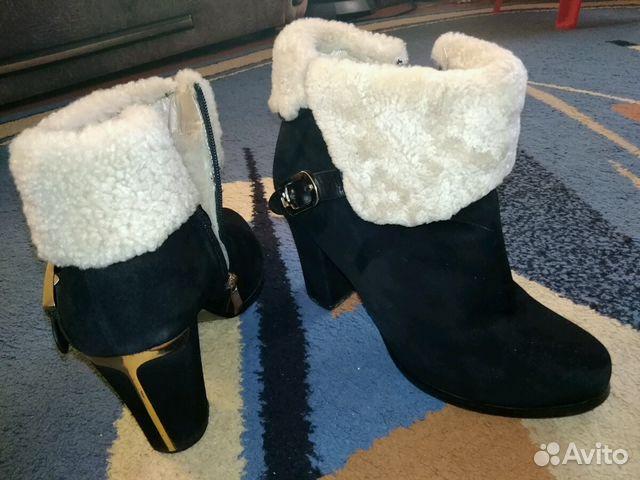 Ботиночки женские, замшевые,зимние.Очень теплые  89656415406 купить 4