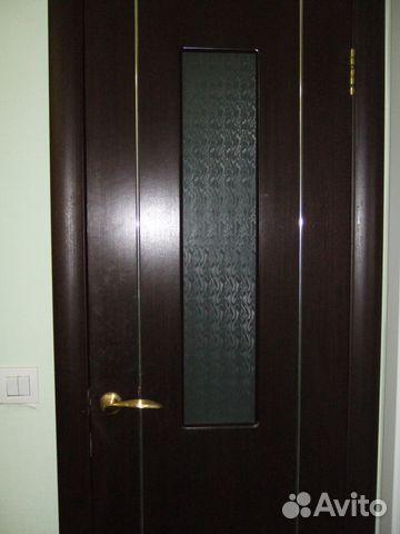 межкомнатные двери венге со стеклом 2 шт Festimaru
