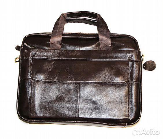 769119a13ca6 Мужская сумка из натуральной кожи Armani black new | Festima.Ru ...
