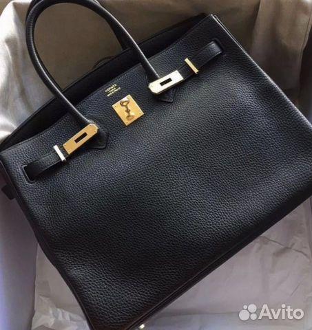 bc717f2a Сумка Hermes Birkin 35 Togo Ghw купить в Москве на Avito ...