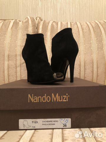 02cd1cb04d7 Nando Muzi Оригинал новые итальянские ботильоны - Личные вещи ...