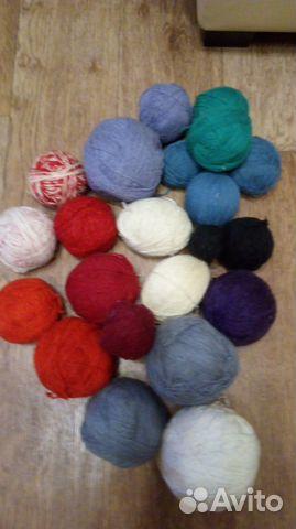 пряжа нитки для вязания купить в калининградской области на Avito