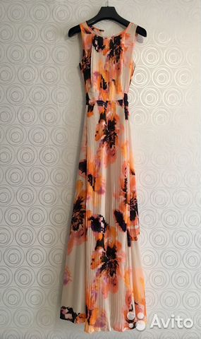 2aaa01f8df0 Платье длинное 42 р