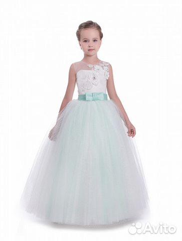 18c3780f366 Нарядное пышное детское платье красивое купить в Москве на Avito ...