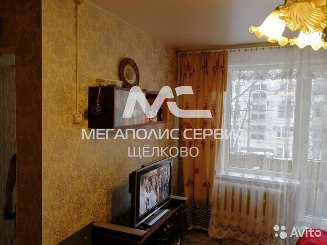 Продается однокомнатная квартира за 2 300 000 рублей. Московская область, Щёлково, улица Беляева, д.3.