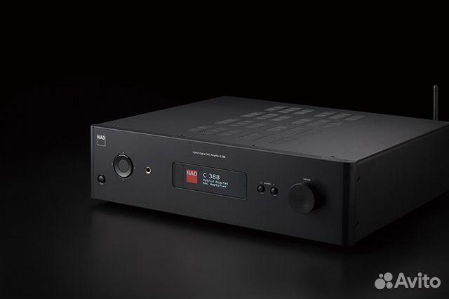 Гибридный цифровой усилитель с цап NAD C388 купить в
